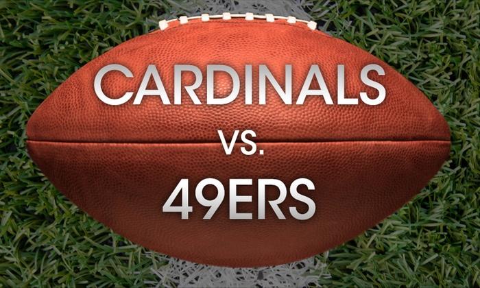 Levi's Stadium - Rivermark of Santa Clara: Arizona Cardinals vs San Francisco 49ers at Levi's Stadium
