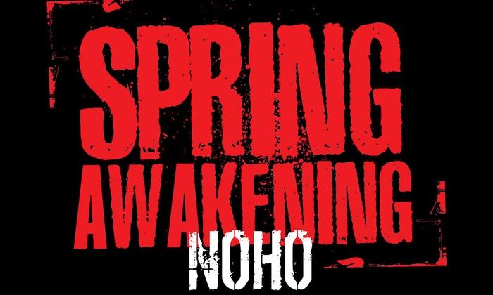 NoHo Arts Center - The NoHo Arts Center: Spring Awakening at NoHo Arts Center
