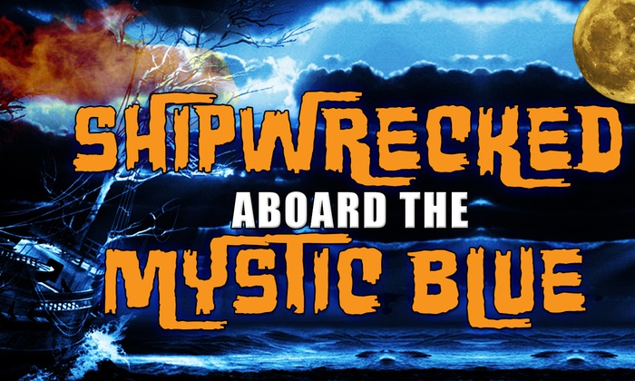 The Mystic Blue - Downtown: Shipwrecked Aboard the Mystic Blue Yacht: Halloween Party Cruise at The Mystic Blue