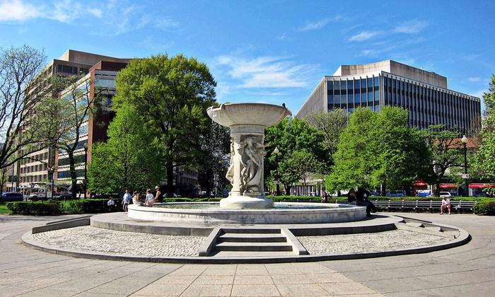 Dupont Circle Fountain - Southeast Washington: Sex, Scandal and Sinners Along Embassy Row Walking Tour