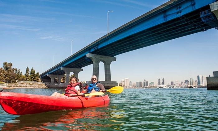 Coronado Ferry Landing - Candelas on the Bay: Coronado Kayak Tour