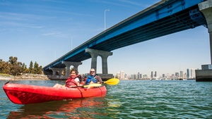 Coronado Ferry Landing: Coronado Kayak Tour at Coronado Ferry Landing