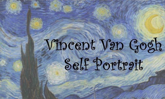 Sandra R. Courtney Community Playhouse - Agua Mansa Industrial Corridor: Van Gogh Self Portrait at Sandra R. Courtney Community Playhouse
