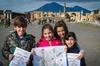 Tour privato di Pompei per famiglie da Napoli