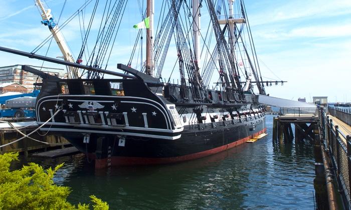 Boston Harbor Cruises - North End: Boston Harbor Cruise With View of USS Constitution at Boston Harbor Cruises