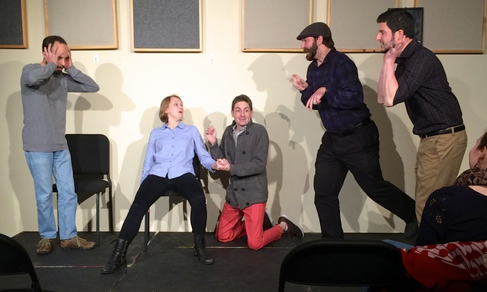 The Riot Theater - Jamaica Central - South Sumner: Improv Jones With MassMouth Story Tellers at The Riot Theater