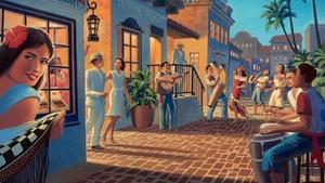 Saint Rocke: Santana Brunch with Old Havana at Saint Rocke