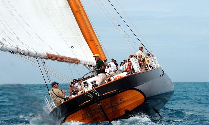 Schooner America 2.0 - Zamora Estates: Classic Day Sail on Schooner America 2.0 at Schooner America 2.0