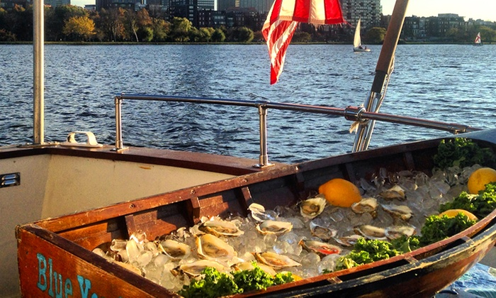 Karma Crew Yacht Charters - Charlestown - Thompson Square - Bunker Hill: Oysters and Craft Brews Cruise