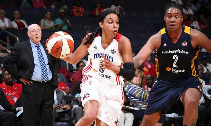Verizon Center - Verizon Center: WNBA Basketball: Washington Mystics at Verizon Center