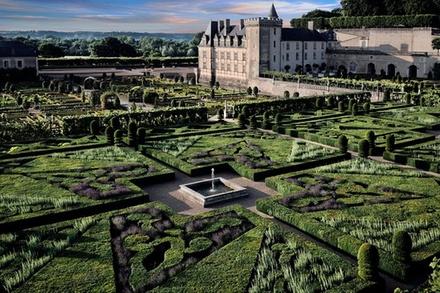 Billet coupe-file pour le Château de Villandry