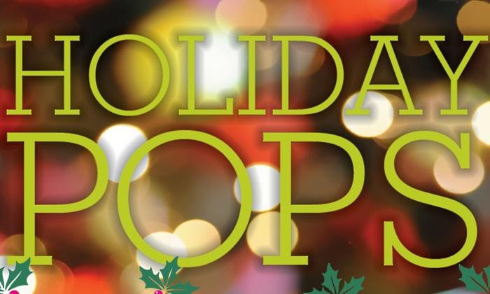 Seattle Symphony's Holiday Pops at Benaroya Hall, S. Mark Taper Foundation Auditorium
