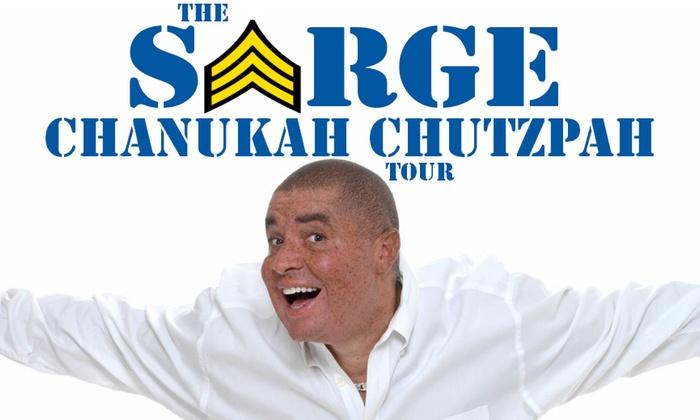 Aventura Arts & Cultural Center - Thunder Alley: Comedian-Musician Sarge: The Chanukah Chutzpah Tour at Aventura Arts & Cultural Center