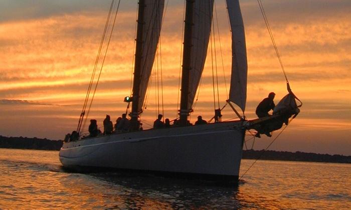 ec55158710e Romantic Sunset Sail Aboard Adirondack III