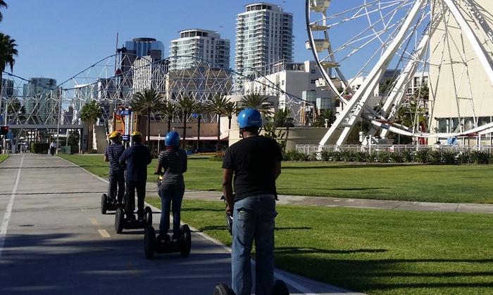 Long Beach Segway Tours - Downtown Long Beach: Sand and Sea Segway Tour at Long Beach Segway Tours