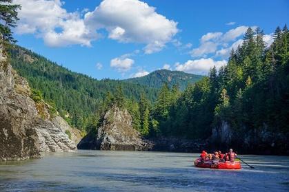 Fraser River Scenic Rafting Trip photo