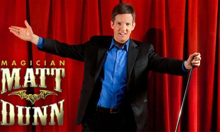 Big Thrill Factory - Minnetonka - Hopkins: Matt Dunn's Mega Magic Dinner Show at Big Thrill Factory