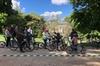 Parque del Retiro y el barrio literario en bicicleta