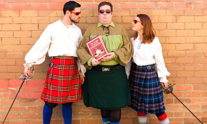 The Grand Tea Room  - Central Escondido: The Complete Works of William Shakespeare (Abridged) at The Grand Tea Room