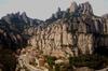 Recorrido de medio día de senderismo por Montserrat desde Barcelona