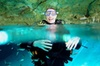 Discover Scuba Diving in Casa cenote from Playa del Carmen