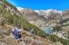 Tren de montaña y senderismo en los Pirineos