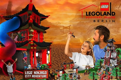Berlin Combo-Tour: LEGOLAND Discovery Centre Berlin und AquaDom & SEA LIFE Berlin