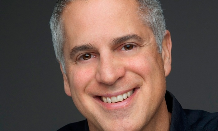Sabes Theater at the JCC  - Cedarhurst: Comedian Mike Capozzola With David Harris at Sabes Theater at the JCC