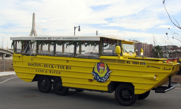 The Duck at the Prudential Center - Back Bay: Boston Holiday Duck Tours at The Duck at the Prudential Center