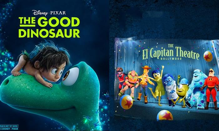 El Capitan Theatre - Central Hollywood: The Good Dinosaur at El Capitan Theatre