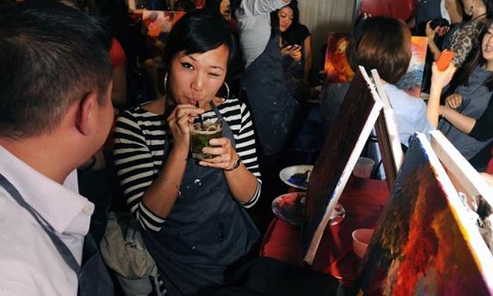 NYC Bars/Lounges - Washington Heights: Painting Circle at NYC Bars/Lounges