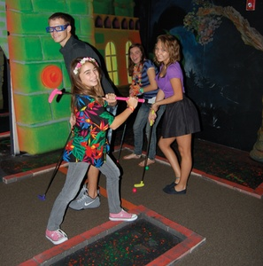 $20 for One Round of Krazie Golf for 2 People and 2 $10 Arcade Game Cards (Reg. $40)