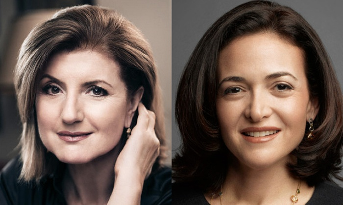 Santa Clara Convention Center - Lakewood: Arianna Huffington & Sheryl Sandberg at Santa Clara Convention Center
