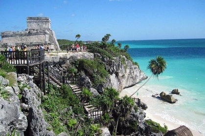 4 places, 1 day, the best price Tulum, Coba, Cenote and Playa del Carmen