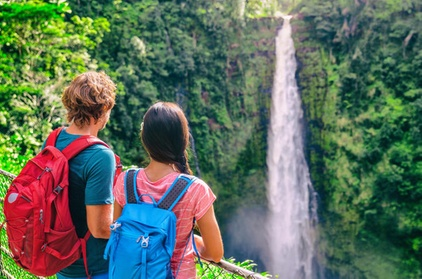 Small Group Tour: Waterfall and Rain Forest Experience with Restaurant Dinner