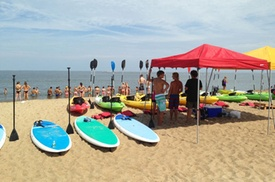 Virginia Beach Surf Lessons at Chesapean Outdoors, plus 6.0% Cash Back from Ebates.