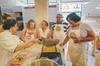 Lezione di cucina su pasta e risotto