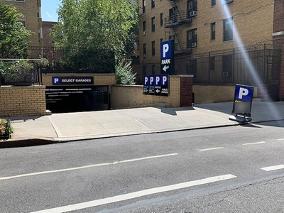 Parking at Select Garages - Underground Entrance - 40 E. 9th St. Garage