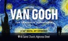 Tickets to see Van Gogh: The Immersive Experience (Leicester)