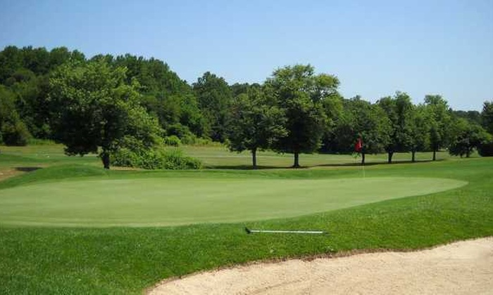 Online Booking - Round of Golf at Pitman Golf Course