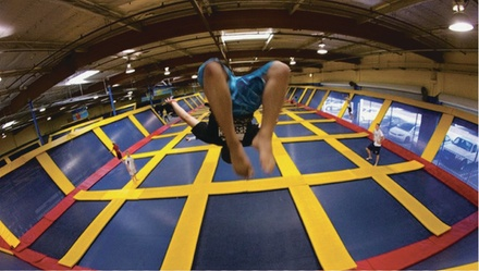 $11 For 2 Hours Of Jump Time For 1 Person (Reg. $22)
