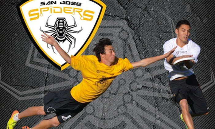Foothill College Stadium - Old Los Altos: San Jose Spiders Ultimate Frisbee