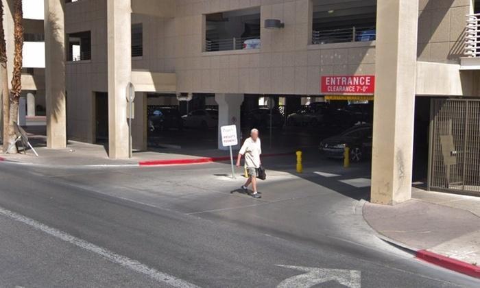 Parking at Zappos Parking Garage