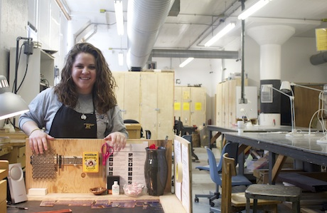 A Portrait of the Artist in Residence: Metalsmith Meghann Sotille of Lillstreet Art Center