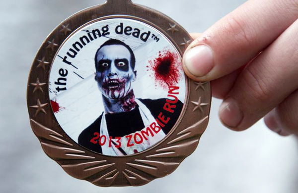 Hang on to Your Brains at the Running Dead Zombie Run