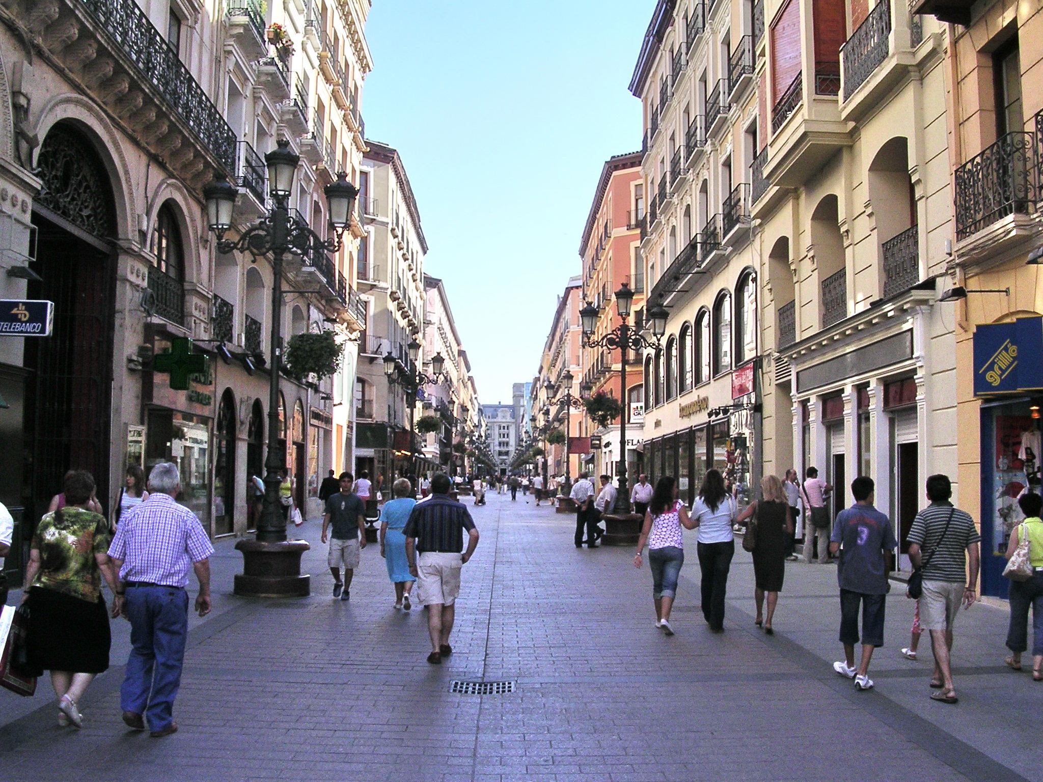 Tiendas por el Casco Histórico de Zaragoza