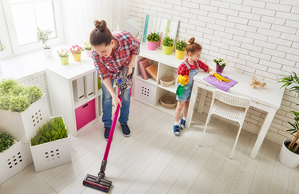 How to Clean Up Kids Messes