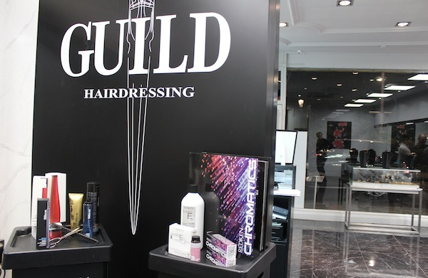 The interior of Guild Hairdressing