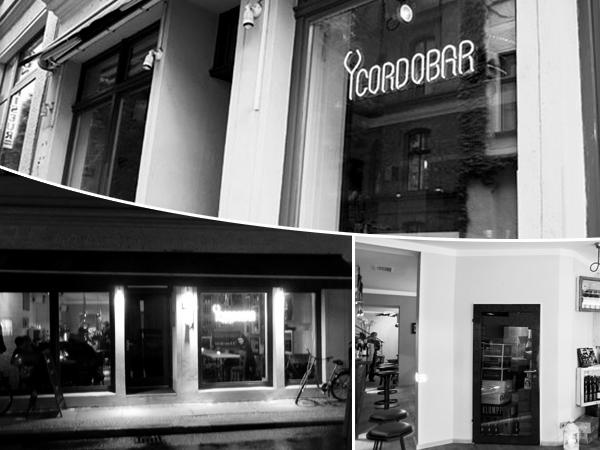 Cordobar Berlin - Weinbar mit außergewöhnlichen Snacks