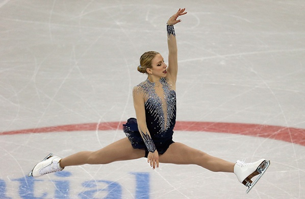 Yes, Pro Figure Skaters Fall on Icy Sidewalks, Too
